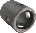 "Bulldog 2-1/4"" Long, Weld-On Jack Pipe Mount for 2-1/2"" Female Mount and 9/16"" Pin"