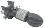 "Bulldog Collar-Lok Coupler w/ Pin - 2-5/16"" Ball - Adjustable Channel Mount - 12,500 lbs"