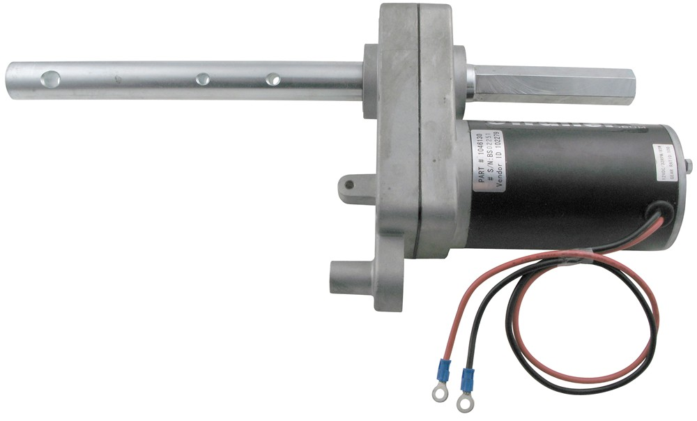 bulldog electric jacks replacement gear motor for bulldog electric powered drive 6784
