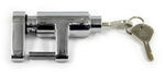 "Bulldog Lifelong Trailer Coupler Lock - Trigger Latch Style - 1/4"" Pin Diameter - Chrome"