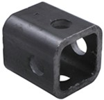 "Bulldog 2-1/8"" Long, Weld-On Jack Pipe Mount for 2-1/2"" Female Mount and 5/8"" Pin"