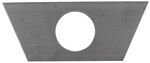 "Bulldog Jack Support Plate - A-Frame - 2-2/7"" Diameter Hole"