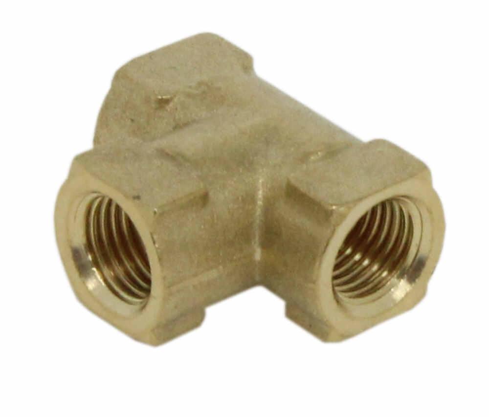 Kodiak tee fitting for hydraulic brake hose brass