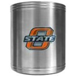 Oklahoma State Collegiate Stainless Beverage Holder