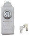 Blaylock Door Lock for Enclosed Trailers - Aluminum - Push Button