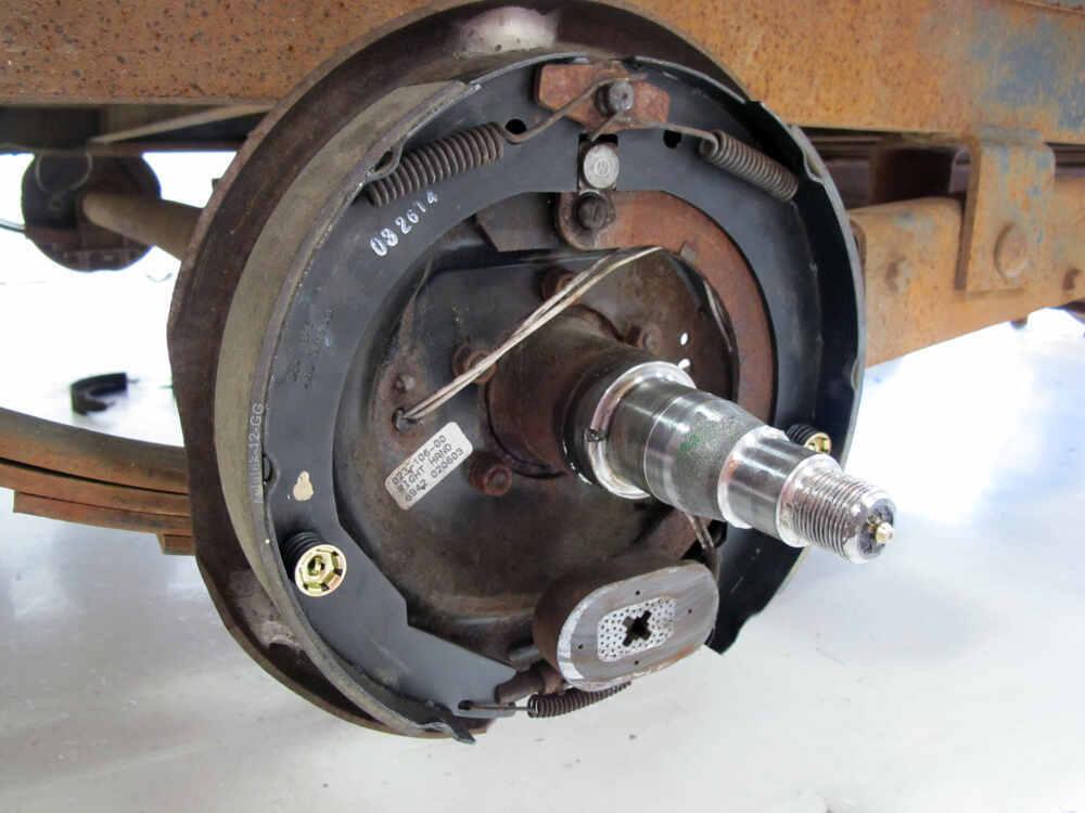 12 Quot X 2 Quot Electric Trailer Brake Shoe Lining One Wheel