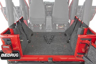 Bedrug Custom Jeep Replacement Liner For Rear Cargo Area