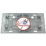 New York Yankees MLB Sport Plate - 3D License Plate