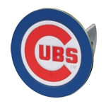 Chicago Cubs Logo MLB Trailer Hitch Cover