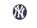New York Yankees Logo MLB Trailer Hitch Cover