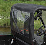 Bestop Windjammer Rear Window Panel for Yamaha Rhino