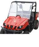 Bestop 2-Piece Windshield for UTVs - Fold Down - Removable