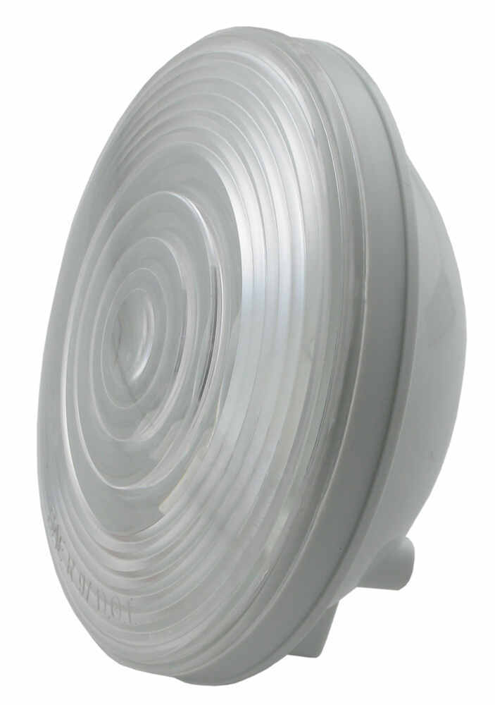 Sealed  4 U0026quot  Round Trailer Back Up Light  Flush Mount