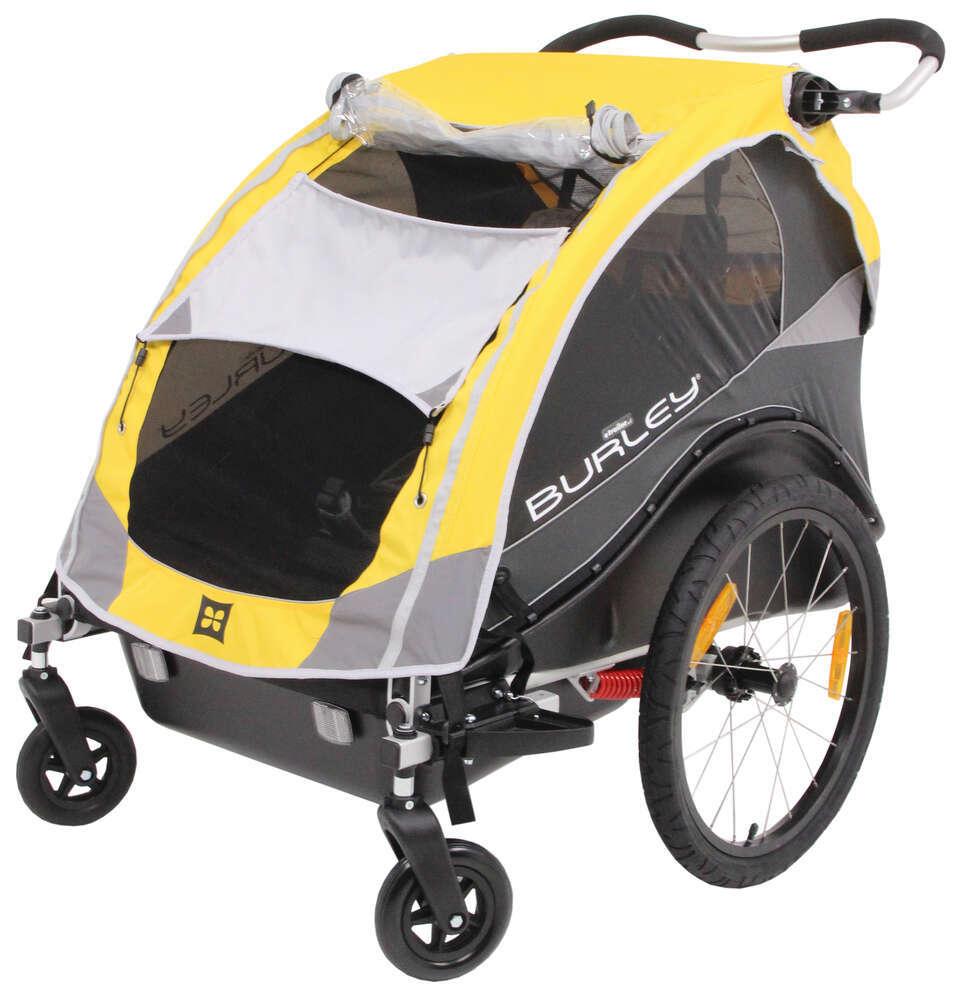 Burley Cub Bike Trailer and Stroller - 2 Child - 12 Months ...