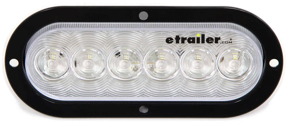 optronics led backup light flange mount 6 1 2 oval. Black Bedroom Furniture Sets. Home Design Ideas