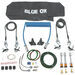 Blue Ox Towing Accessories Kit for Motor-Home-Mounted Tow Bars - 5,000 lbs