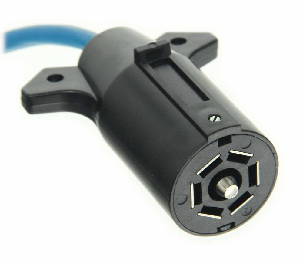 Blue Ox 7-wire To 4-wire  Coiled Electrical Cord