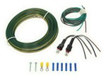 Blue Ox Tail Light Wiring Kit for Towed Vehicles - LED Bulb and Socket - Red