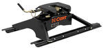 Curt Q20 5th Wheel Trailer Hitch w/ Rails and Universal Installation Kit - Dual Jaw - 20,000 lbs