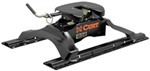 Curt Q24 5th Wheel Trailer Hitch w/ Rails and Universal Installation Kit - Dual Jaw - 24,000 lbs