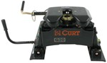 Curt Q20 5th Wheel Trailer Hitch w/ R20 Slider - Dual Jaw - 20,000 lbs