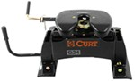 Curt Q24 5th Wheel Trailer Hitch w/ R24 Slider - Dual Jaw - 24,000 lbs