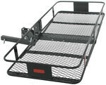 "24x60 Folding Cargo Carrier for 2"" Trailer Hitches - Steel - 500 lbs"