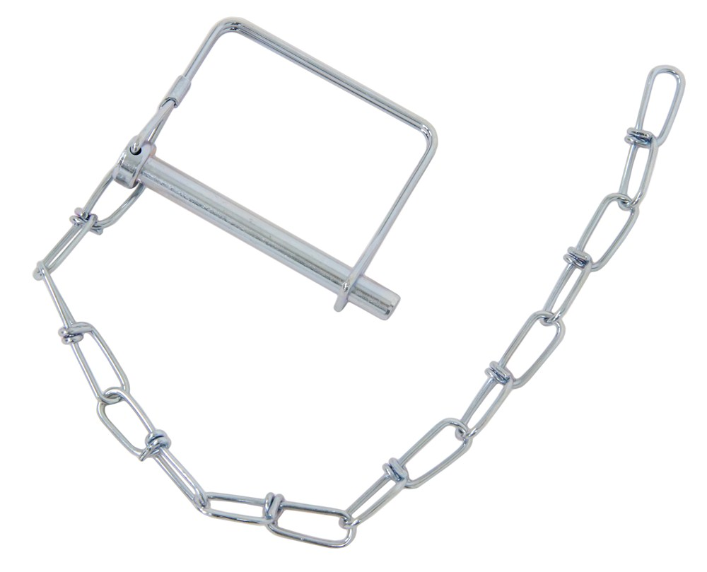 Trailer Coupler Safety Pin : Curt coupler safety pin quot chain zinc