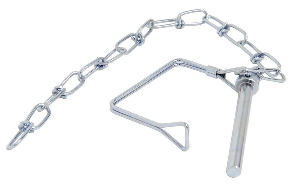 Coupler Safety Pin : Curt coupler safety pin quot chain zinc