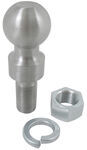 "2-5/16"" Hitch Ball - 1"" Rise - 1-1/4"" Diameter x 2-5/8"" Long Shank - 25,000 lbs"