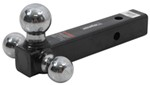 "Tri-Ball Mount - Hollow 2"" Shank - Black"