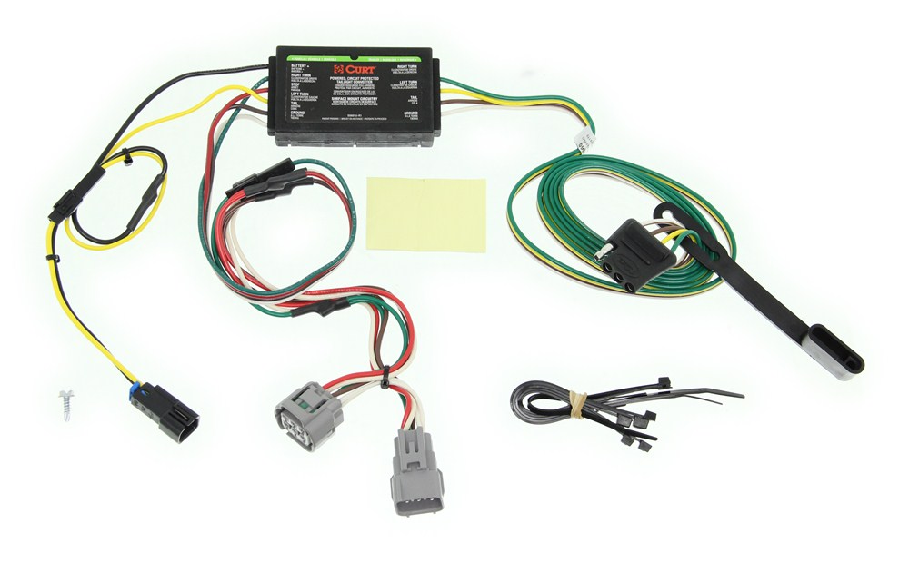 Custom Fit Vehicle Wiring By Curt For 1996 Grand Cherokee