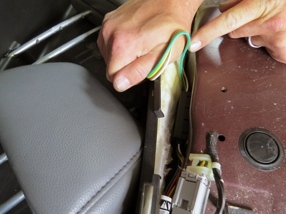 2007 honda pilot trailer wiring harness curt custom fit vehicle wiring for honda pilot 2007 - c55336 2013 honda pilot trailer wiring harness
