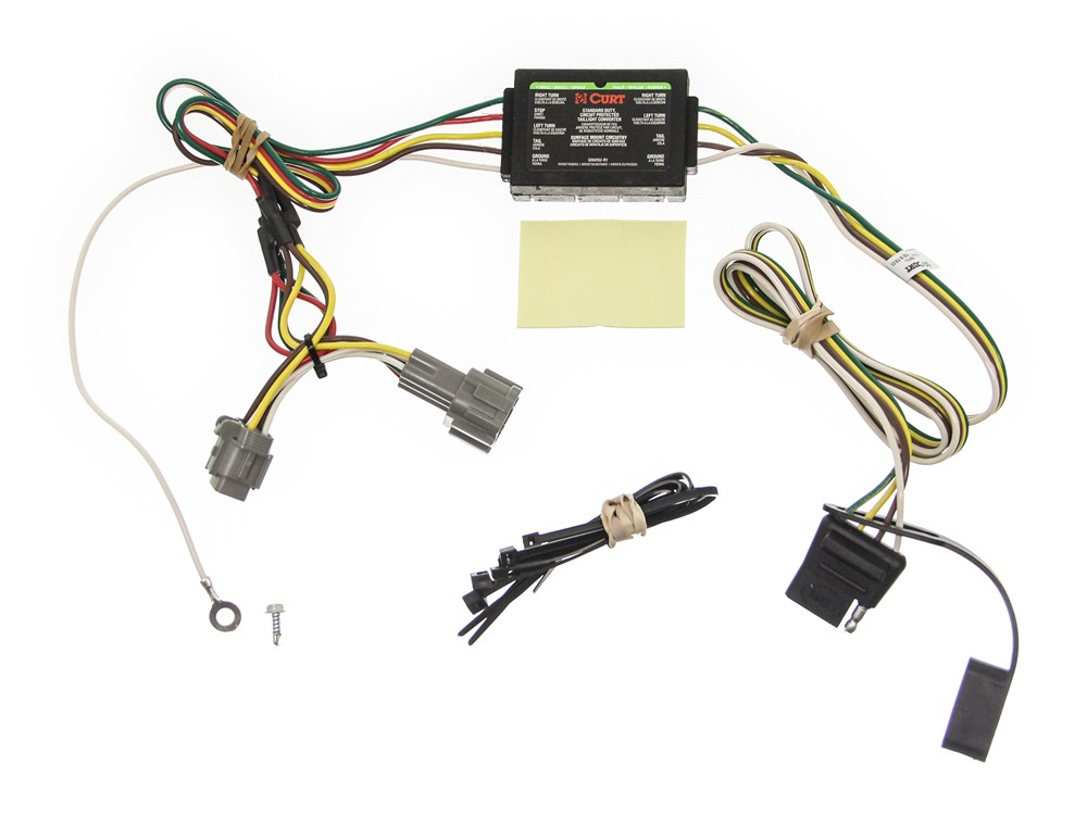 custom fit vehicle wiring for 2002 nissan frontier curt c55362