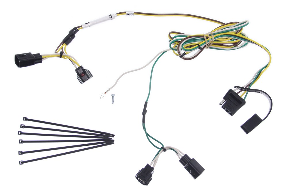 mopar factory wiring harness for flat towing jeep