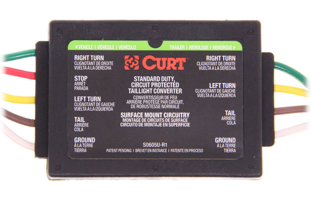 Trailer Wiring Harness For 2004 Toyota Tacoma : Curt custom fit vehicle wiring for toyota tacoma c