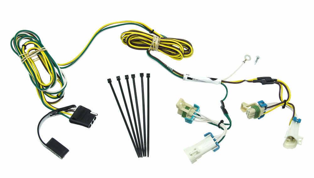 curt custom fit vehicle wiring for pontiac aztek 2001 c55383