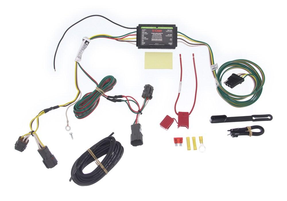 curt custom fit vehicle wiring for kia sedona 2007 c55503 Silverado Trailer Wiring Harness Vehicle Specific Wiring Harness Trailer