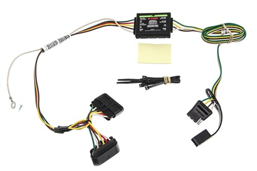 Trailer Wiring Harness For Chevy Colorado : Custom fit vehicle wiring for chevrolet colorado