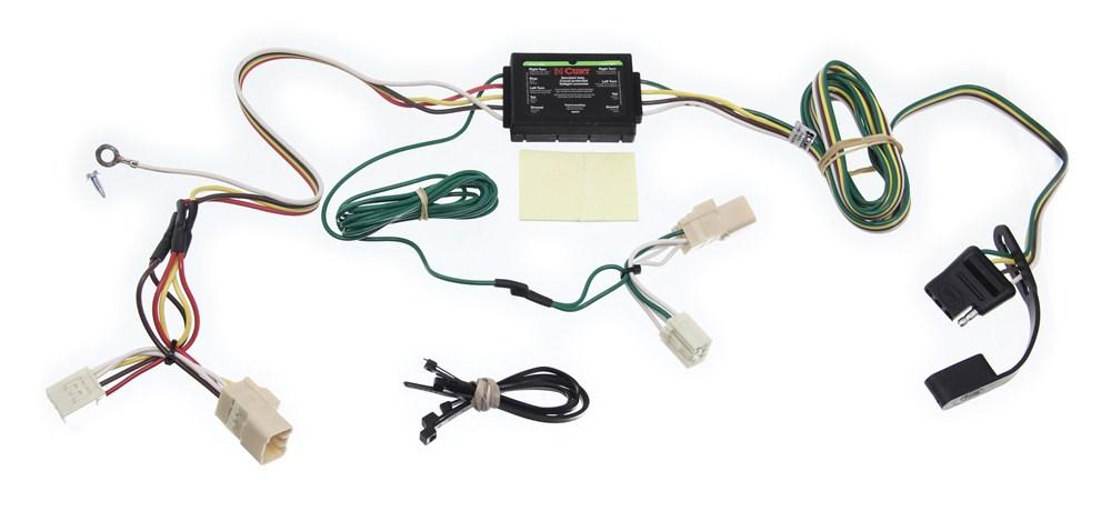 Toyota Echo Wiring Harness : Curt custom fit vehicle wiring for toyota echo c