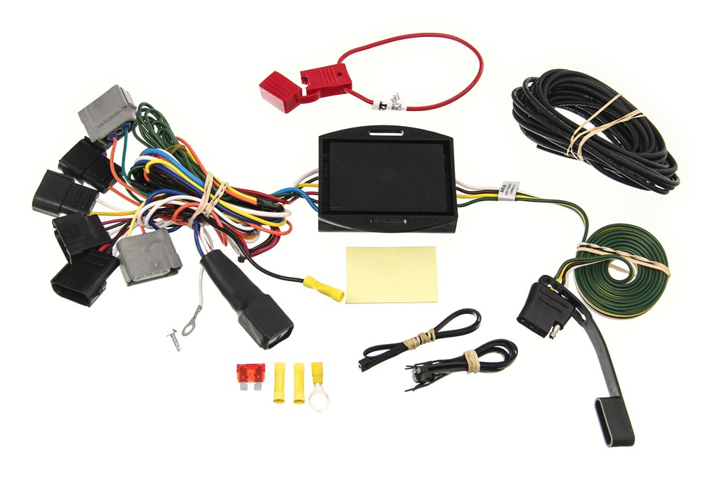 Trailer Wiring Harness For Ford Windstar : Custom fit vehicle wiring by curt for windstar c