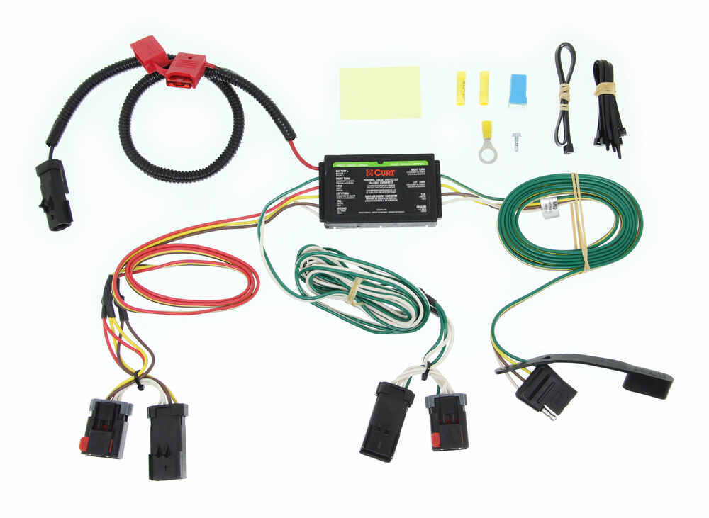 curt custom fit vehicle wiring for chrysler pacifica 2007 c55530