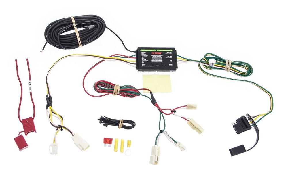 custom fit vehicle wiring for 2008 lexus rx 350 curt c55563. Black Bedroom Furniture Sets. Home Design Ideas