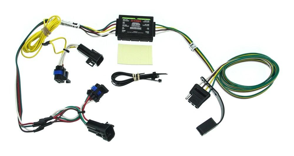 Trailer Wiring Harness Saturn Vue : Curt custom fit vehicle wiring for saturn vue c