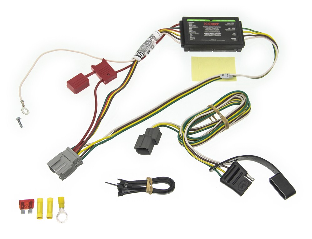 Trailer Wiring Harness Honda Element : Curt custom fit vehicle wiring for honda element c
