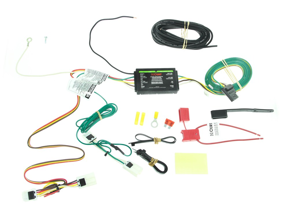 Custom Fit Vehicle Wiring by Curt for 2013 Rogue - C56033