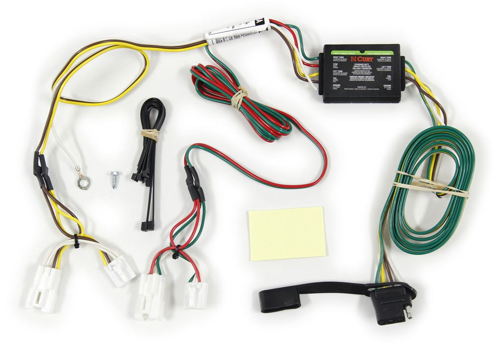 Curt wiring harness radio diagram