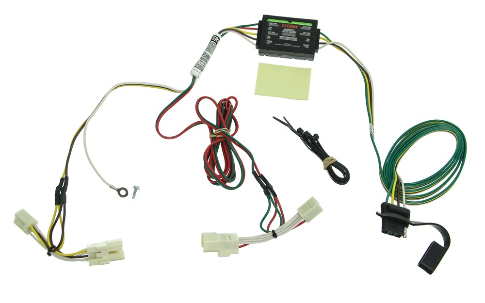 custom fit vehicle wiring by curt for 2013 optima c56058