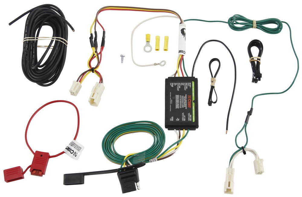 Custom fit vehicle wiring by curt for venza c