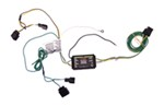 CURT T-Connector Vehicle Wiring Harness with 4 Pole Trailer Connector